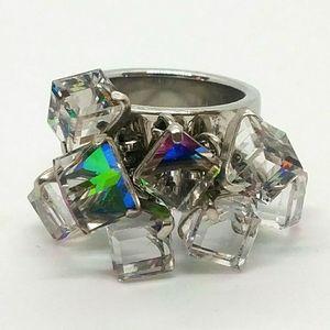 Ladies Swatch Bijoux Love Explosion Ring Size 7